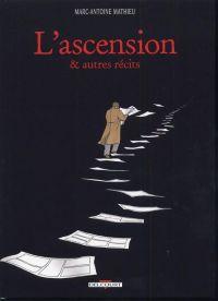 L'ascension et autres récits, bd chez Delcourt de Mathieu