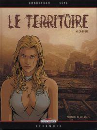 Le territoire T1 : Necropsie (0), bd chez Delcourt de Corbeyran, Espé, Hubert