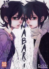 Nabari T13, manga chez Kazé manga de Kamatani