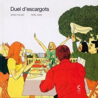 Duel d'escargots, bd chez Cambourakis de Joan, Pulido