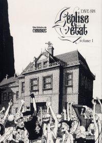 Cerebus T2 : L'église et l'Etat - partie 1 (0), comics chez Vertige Graphic de Sim, Gerhard