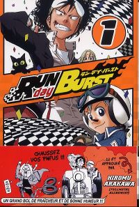 Run Day Burst T1, manga chez Ki-oon de Osada