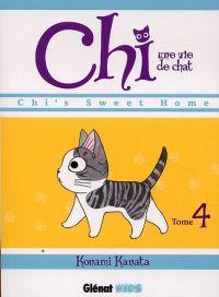 Chi - une vie de chat T4, manga chez Glénat de Konami