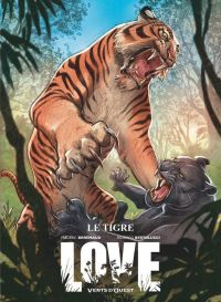 Love T1 : Le tigre (0), bd chez Ankama de Brrémaud, Bertolucci