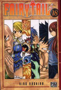 Fairy Tail T18, manga chez Pika de Mashima
