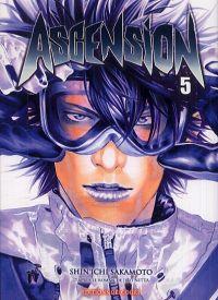 Ascension T5, manga chez Delcourt de Nabeta, Nitta, Sakamoto