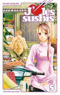 J'aime les sushis T5, manga chez Delcourt de Komura