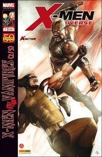 X-Men Universe – Revue V 1, T5 : La malédiction des mutants (2/5) - X-Men vs Vampires (0), comics chez Panini Comics de David, Gischler, Medina, Lupacchino, Gracia, Milla, Granov