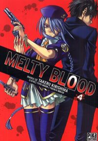 Melty blood T4, manga chez Pika de French bread, Type-moon, Kirishima