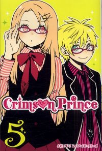 Crimson prince T5, manga chez Ki-oon de Kuwahara