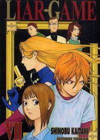 Liar game T7, manga chez Tonkam de Kaitani