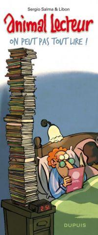 Animal lecteur T3 : On peut pas tout lire ! (0), bd chez Dupuis de Salma, Libon