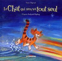 Le Chat qui s'en va tout seul, bd chez Delcourt de Degruel