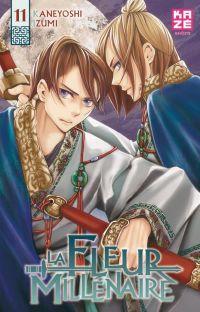La fleur millénaire T11, manga chez Kazé manga de Kaneyoshi