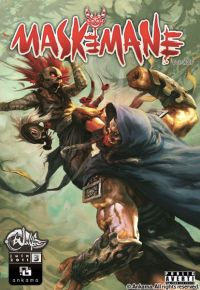 Maskemane T3, comics chez Ankama de Tot, Xzf, Studio 9, Briclot