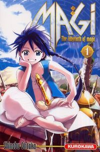 Magi, the labyrinth of magic  T1, manga chez Kurokawa de Ohtaka
