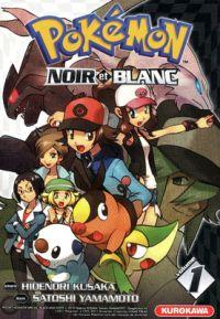 Pokémon noir et blanc T1, manga chez Kurokawa de Kusaka, Yamamoto