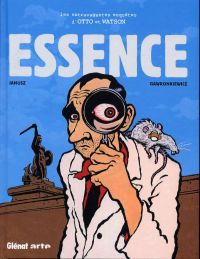 Les extravagantes Enquêtes d'Otto et Watson T1 : Essence (0), bd chez Glénat de Janusz, Gawronkiewicz