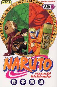 Naruto T15, manga chez Kana de Kishimoto