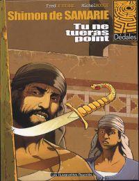 Shimon de Samarie T1 : Tu ne tueras point (0), bd chez Les Humanoïdes Associés de Le Berre, Rouge, Rouge