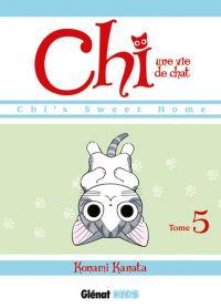 Chi - une vie de chat T5, manga chez Glénat de Konami