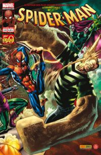Spider-Man (revue) – V 2, T139 : Chasse à mort (0), comics chez Panini Comics de Kelly, Aaron, Busiek, Dematteis, Olliffe, Gaudiano, Kubert, Southwork, Checchetto, Lark, Rios, Fiumara, Thies, Hollingsworth, Buccellato, d' Auria, Ponsor, Hitch