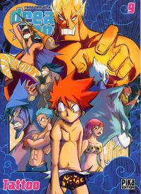 Dreamland  T9 : Tatoo (0), manga chez Pika de Lemaire