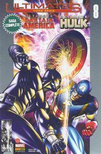 Ultimates – Hors série, T8 : Ultimate Captain America et Hulk (0), comics chez Panini Comics de Loeb, McGuinness, Sandoval, Djurdjevic, Gracia, Guru efx, Peterson