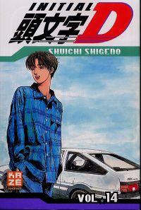 Initial D T14, manga chez Kazé manga de Shigeno