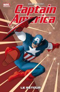 Captain America - Best comics T1 : Le retour - The return of Steve Rogers (0), comics chez Panini Comics de Waid, Brubaker, Martin, Pulido, Garney, Perkins, d' Armata, Rodriguez, Rosas, Digital AD