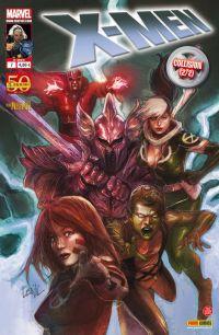 X-Men (revue) – V 2, T7 : Collision (2/2) (0), comics chez Panini Comics de Carey, Gillen, Fraction, Wells, Raney, Kirk, Land, Mann, Guru efx, Ponsor, Reber, Yu