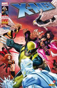 X-Men (revue) – V 2, T8 : Quarantaine (0), comics chez Panini Comics de Wells, Gillen, Fraction, Kirk, Land, Renaud, Ponsor, Guru efx