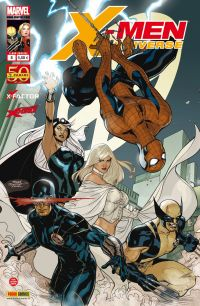 X-Men Universe – Revue V 1, T8 : Servir et protéger (0), comics chez Panini Comics de Remender, David, Gischler, Opeña, Lupacchino, Bachalo, Milla, White, Dodson