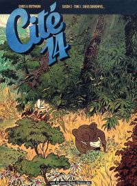 Cité 14 – Saison 2, T1 : Chers corrompus (0), bd chez Les Humanoïdes Associés de Gabus, Reutimann