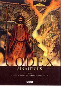 Codex sinaïticus T3 : Yhwh, la révélation finale (0), bd chez Glénat de Delalande, Bertorello, Quattrocchi, Lapo, Quaresma