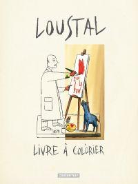 Livre à colorier, bd chez Casterman de de Loustal
