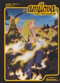 Amilova T1, manga chez Amilova.com de Troy B, Salagir, Gogéta Jr