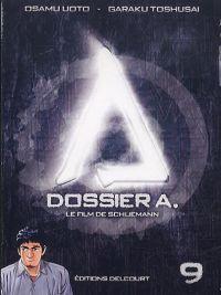 Dossier A. T9, manga chez Delcourt de Toshusai, Uoto