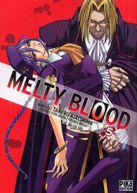 Melty blood T5, manga chez Pika de French bread, Type-moon, Kirishima