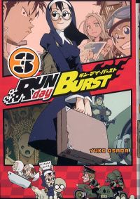 Run Day Burst T3, manga chez Ki-oon de Osada