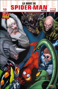 Ultimate Spider-Man (kiosque V2) T10 : La mort de Spider-Man - Prélude, comics chez Panini Comics de Bendis, Lafuente, Tadeo, Pichelli, Medina, Casagrande, Ponsor, McGuinness