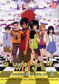 Summer wars Oz Championship T1, manga chez Kazé manga de Hosoda, Sugimoto, Sadamoto