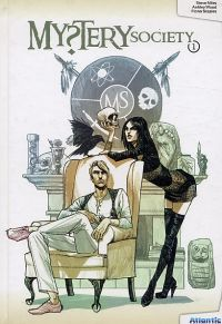 Mystery Society T1, comics chez Atlantic de Wood, Niles, Staples