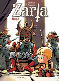 Zarla T4 : Rage (0), bd chez Dupuis de Janssens, Guilhem, Cesano