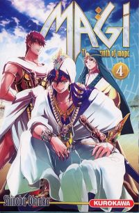 Magi, the labyrinth of magic  T4, manga chez Kurokawa de Ohtaka