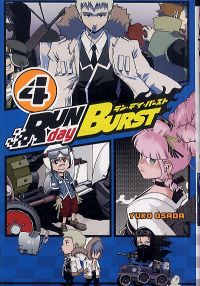Run Day Burst T4, manga chez Ki-oon de Osada