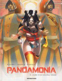Pandamonia T2 : L'aube d'un nouveau monde, bd chez Drugstore de Ecuba, Lauria, Cucca, Andolfo