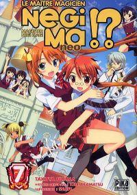 Negima !? neo T7, manga chez Pika de Fujima, Akamatsu