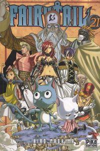 Fairy Tail T21, manga chez Pika de Mashima