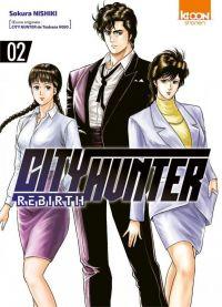 City Hunter rebirth T2, manga chez Ki-oon de Hôjô, Nishiki